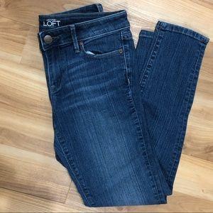 Loft 4P Petite Modern Skinny Jeans
